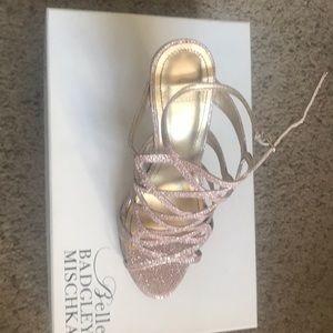 Strappy dress sandals
